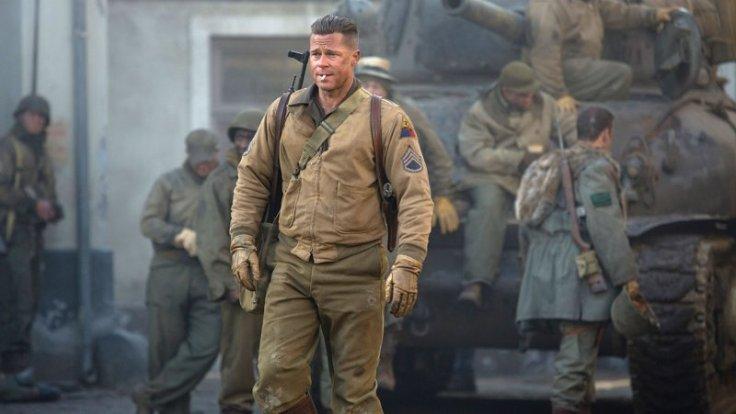 Brad Pitt, Fury