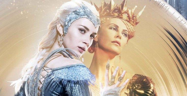 Emily Blunt i Chalize Theron w filmie Łowca i Królowa Lodu