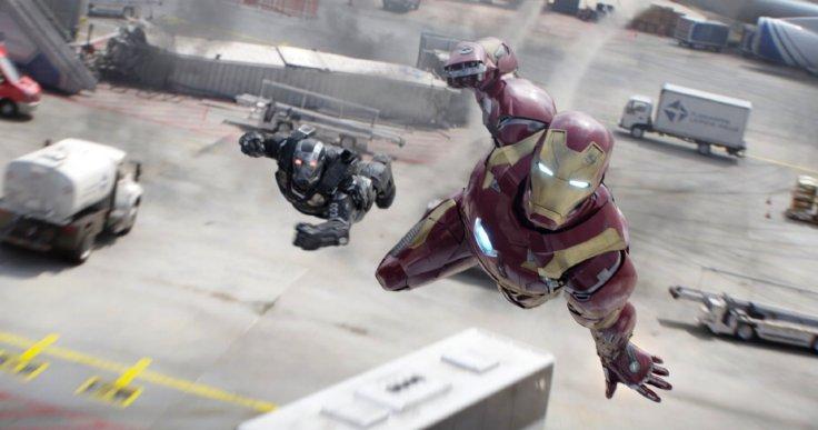 Kapitan Ameryka: Wojna bohaterów - War Machine i Iron Man