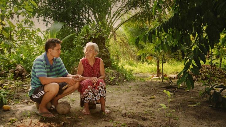 Kadr z filmu Scena ciszy