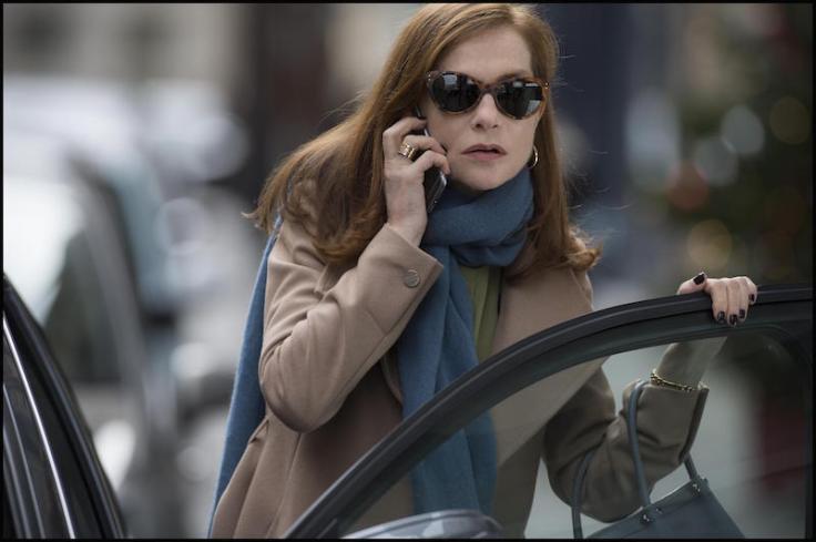 Isabelle Huppert w filmie Elle reż. Paul Verhoeven