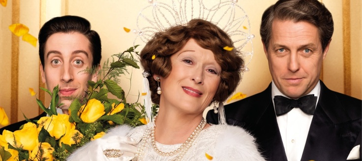 Simon Helberg, Meryl Streep, Hugh Grant w filmie Florence Foster Jenkins