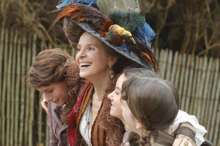 Juliette Binoche w filmie Ma Loute