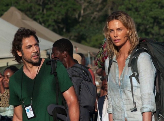 Javier Bardem i Charlize Theron w The Last Face