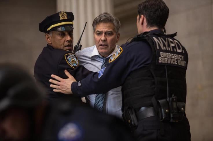 George Clooney w Zakładnik z Wall Street