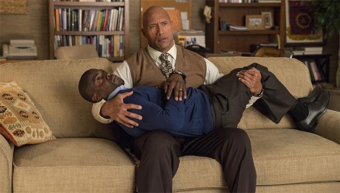 Dwayne Johnson i Kevin Hart w filmie Agent i pół