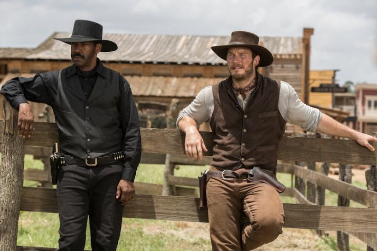 Denzel Washington Chris Pratt Siedmiu wspaniałych recenzja