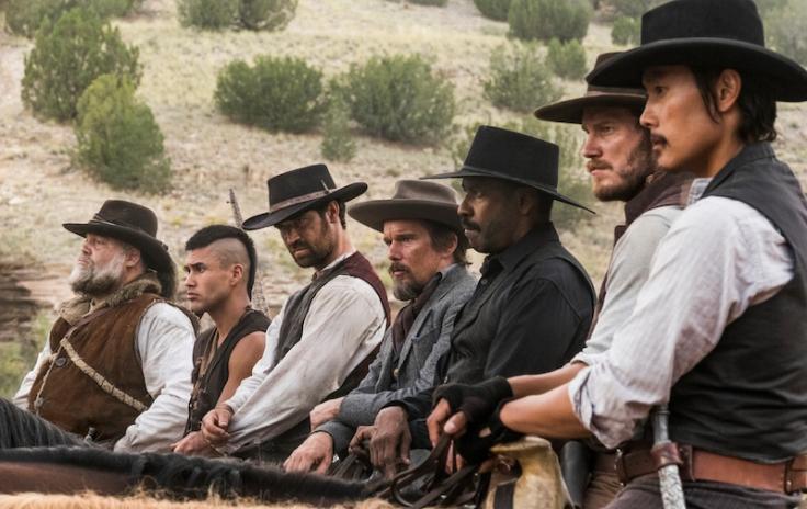 Siedmiu wspaniałych recenzja Vincent D'Onofrio, Martin Sensmeier, Manuel Garcia-Rulfo, Ethan Hawke, Denzel Washington, Chris Pratt and Byung-hun Lee star