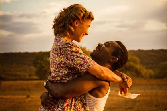 Rosamund Pike i David Oyelowo w filmie A united kingdom