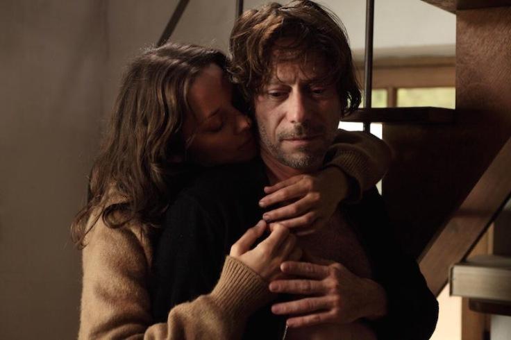 Mathieu Amalric and Marion Cotillard in Ismael's Ghosts, dir. Arnaud Desplechin