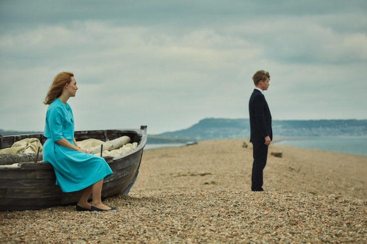 On Chesil Beach, dir. Dominic Cooke. Starring Saoirse Ronan and Billy Howle