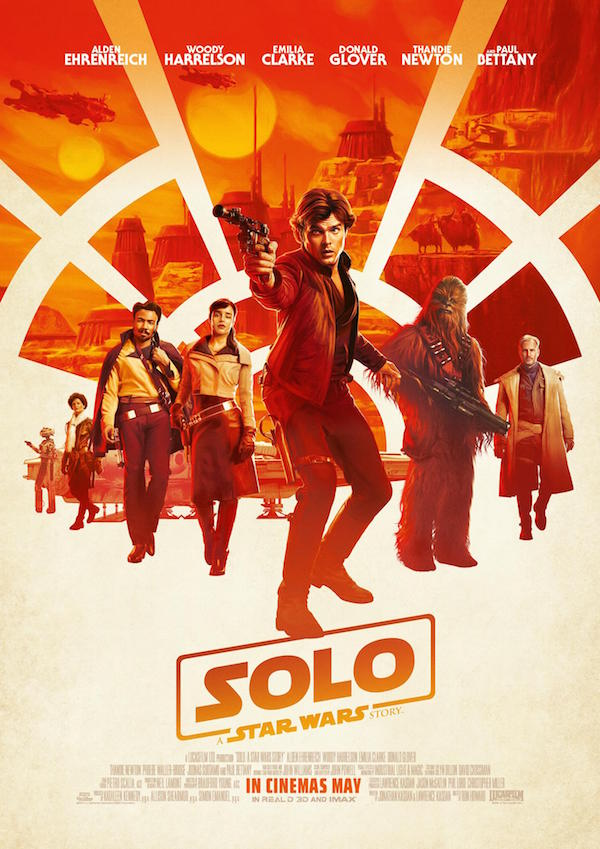Poster of Solo: A Star Wars Story, dir. Ron Howard