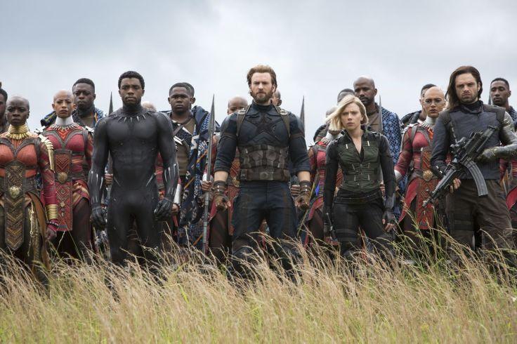 Avengers Infinity War battle
