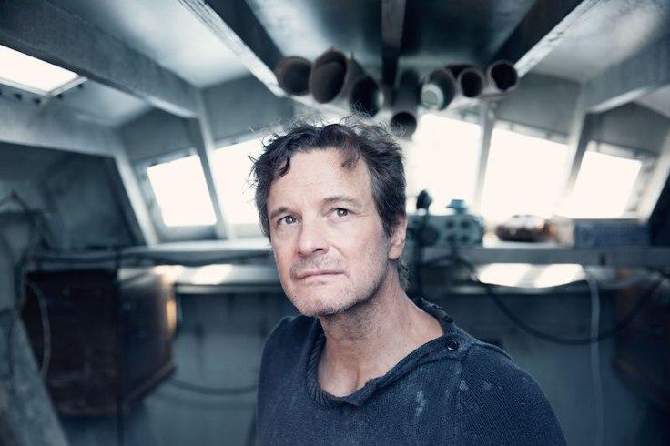 Colin Firth w filmie Na głęboką wodę, reż. James Marsh