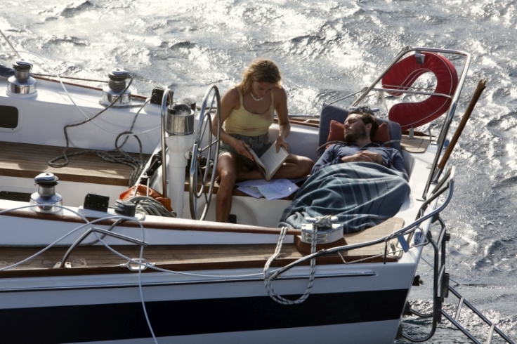 Shailene Woodley and Sam Claflin star in Adrift Courtesy of STXfilms