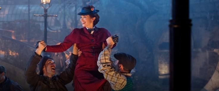Emily Blunt w filmie Mary Poppins powraca, reż. Rob Marshall