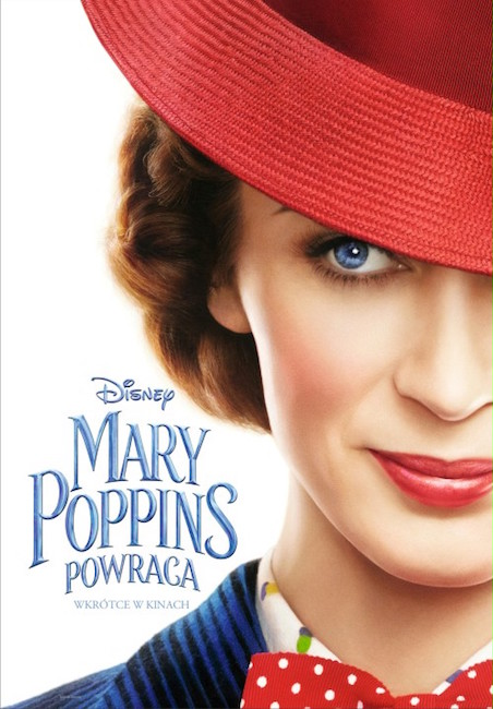 Plakat do filmu Mary Poppins powraca, reż. Rob Marshall
