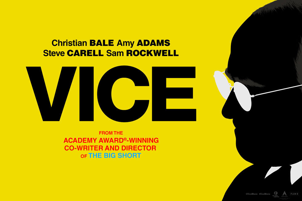 Plakat filmu Vice, reż. Adam McKay