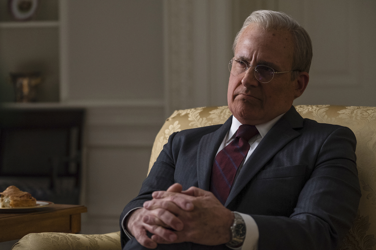 Steve Carell jako Donald Rumsfeld w filmie Vice, reż. Adam McKay