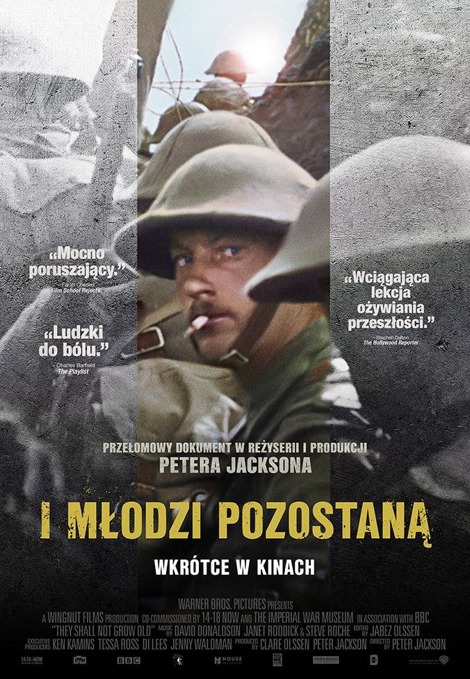 Plakat z filmu I młodzi pozostaną / fot. Warner Bros. Polska
